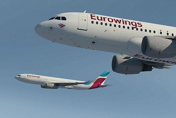 b78e7725d969 A Germanwings 16 millió utassal Németország harmadik legnagyobb  légitársasága. Az új Eurowings még nagyobb európai és nemzetközi  célállomás-választékot ...