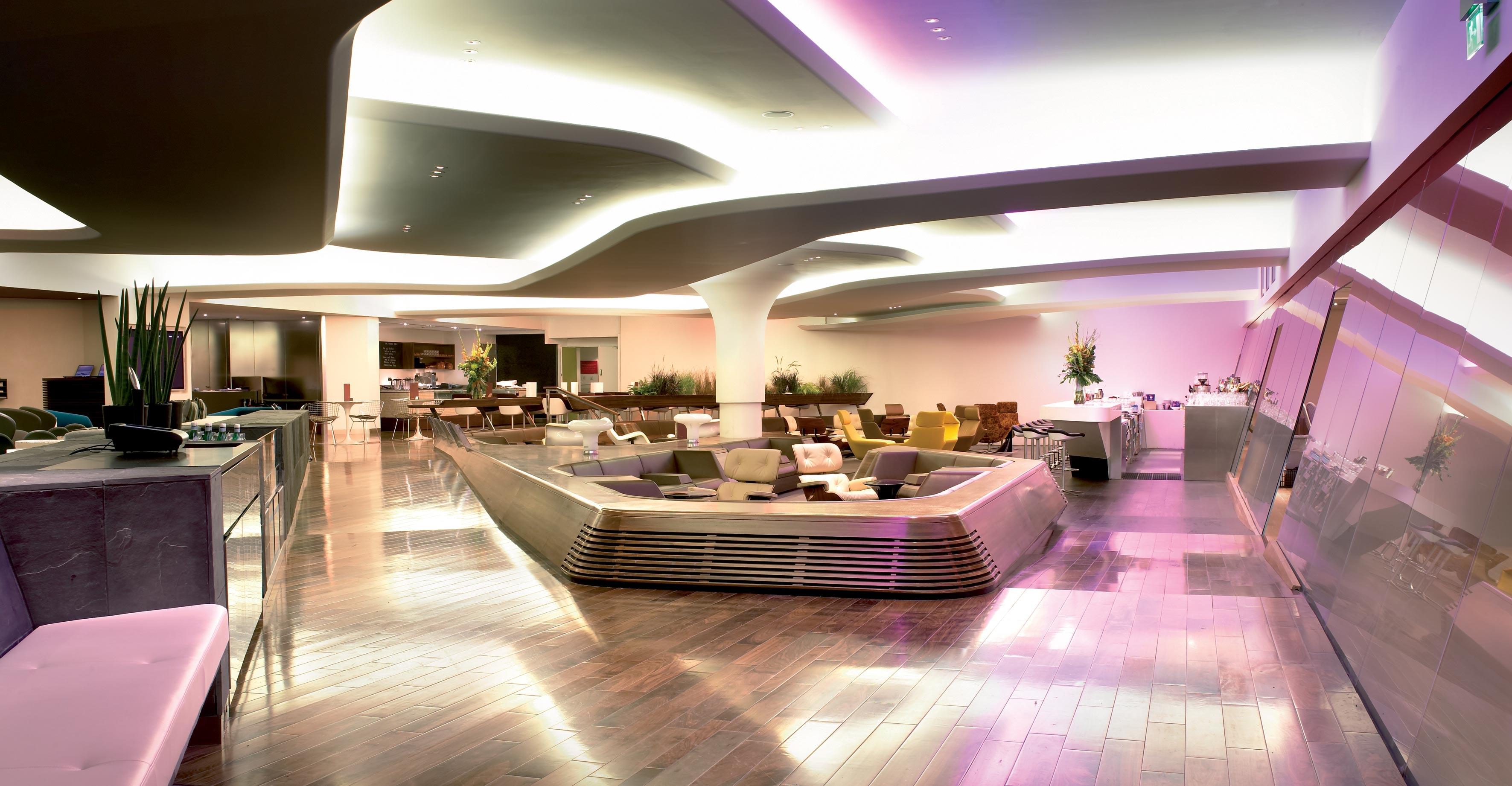 Virgin Atlantic lounge JFK