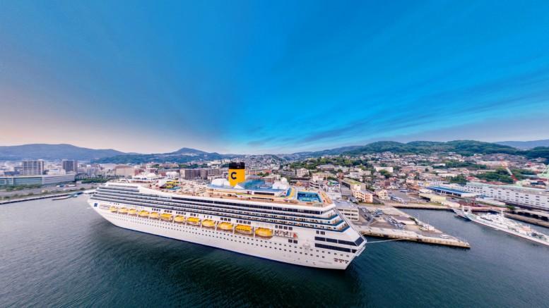costa-fortuna-panoramic-view-on-nagasaki-port