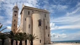 Bari nevezetes katedrálisa