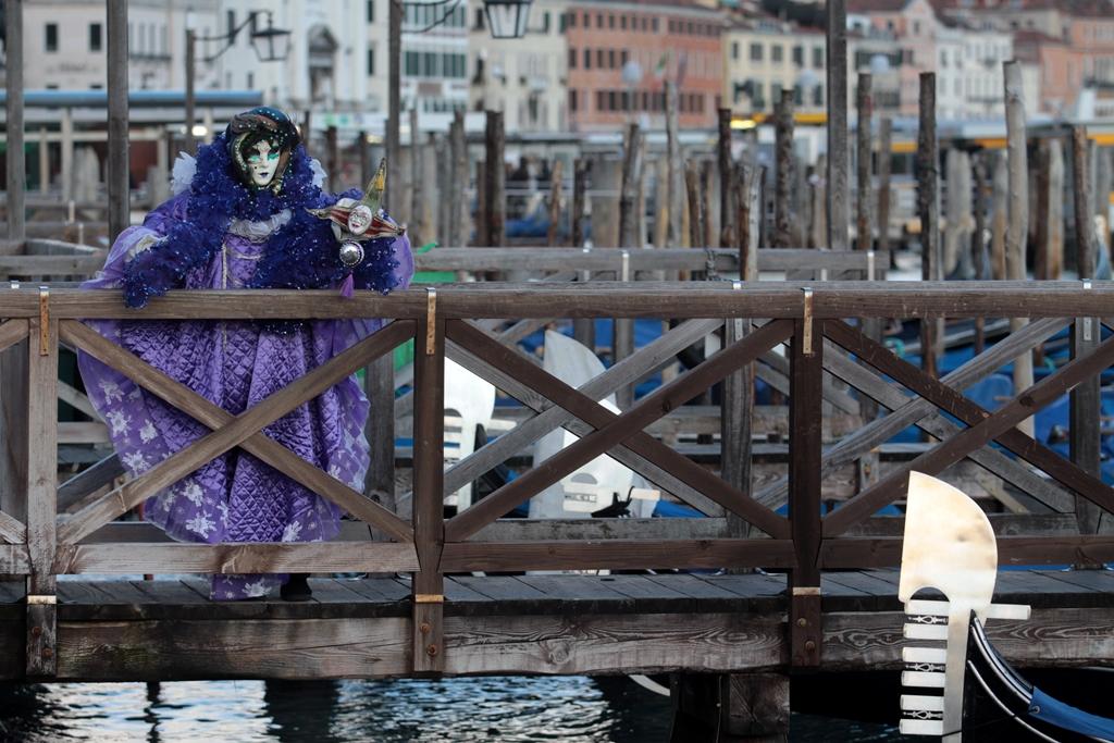 06.02.2013 Venezia. Carnevale di Venezia: maschere a San Marco. © Italo Greci/Unionpress