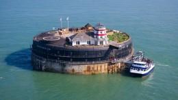 Régen haditámaszpont, ma luxushotel: No Man´s Land Fort a La Manche csatornán