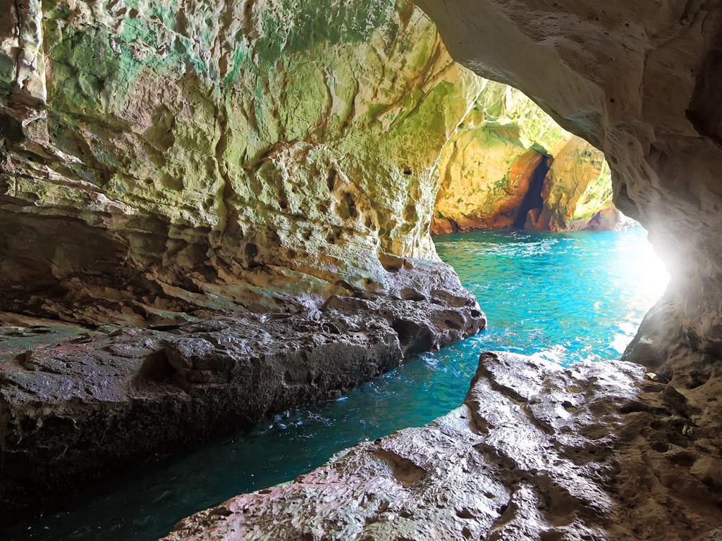 Rosh HaNikra tengeri barlangjaiban