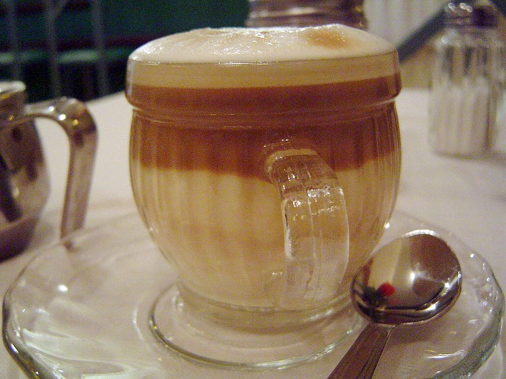 Caffé macchiatio - a foltos kávé