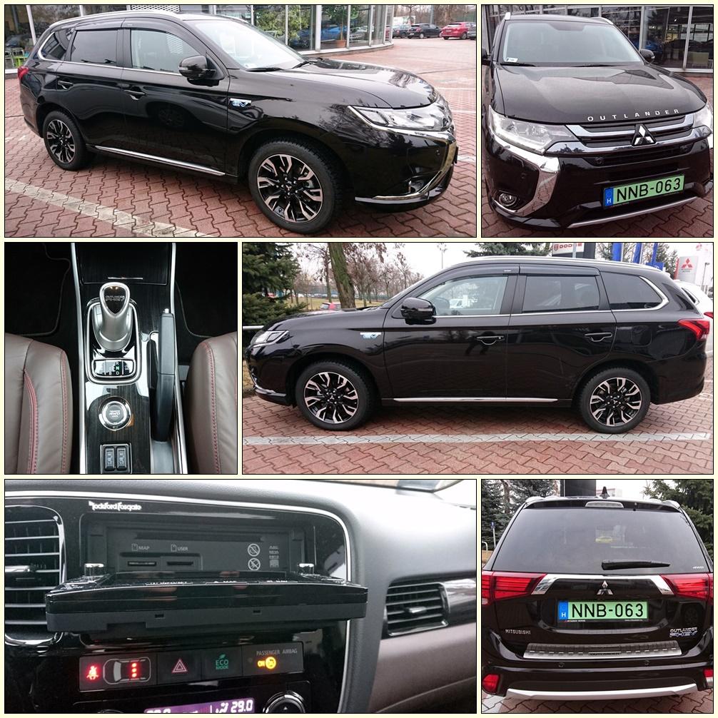 Mitsubishi Outlander montage