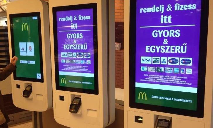 Mindjárt kezdődik a jövő a McDonald's üzleteiben