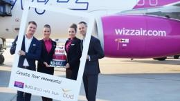 Ú járatokat indít a Wizz Air
