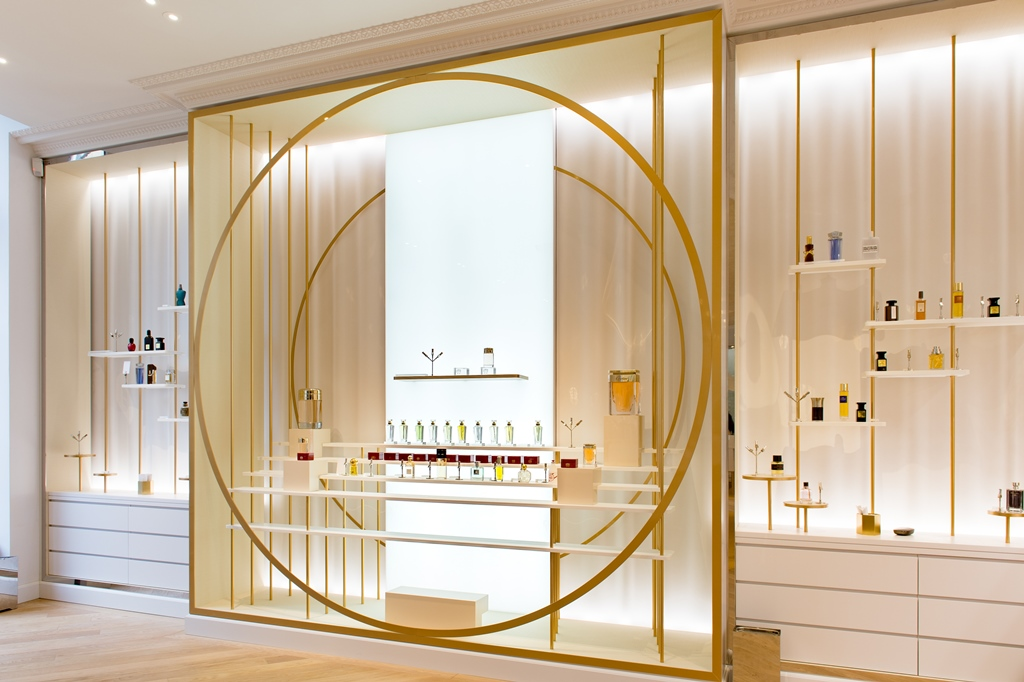 2016. december 22-én nyílt meg a párizsi Grand Musée du Parfum múzeum; Fotó: Irene de Rosen