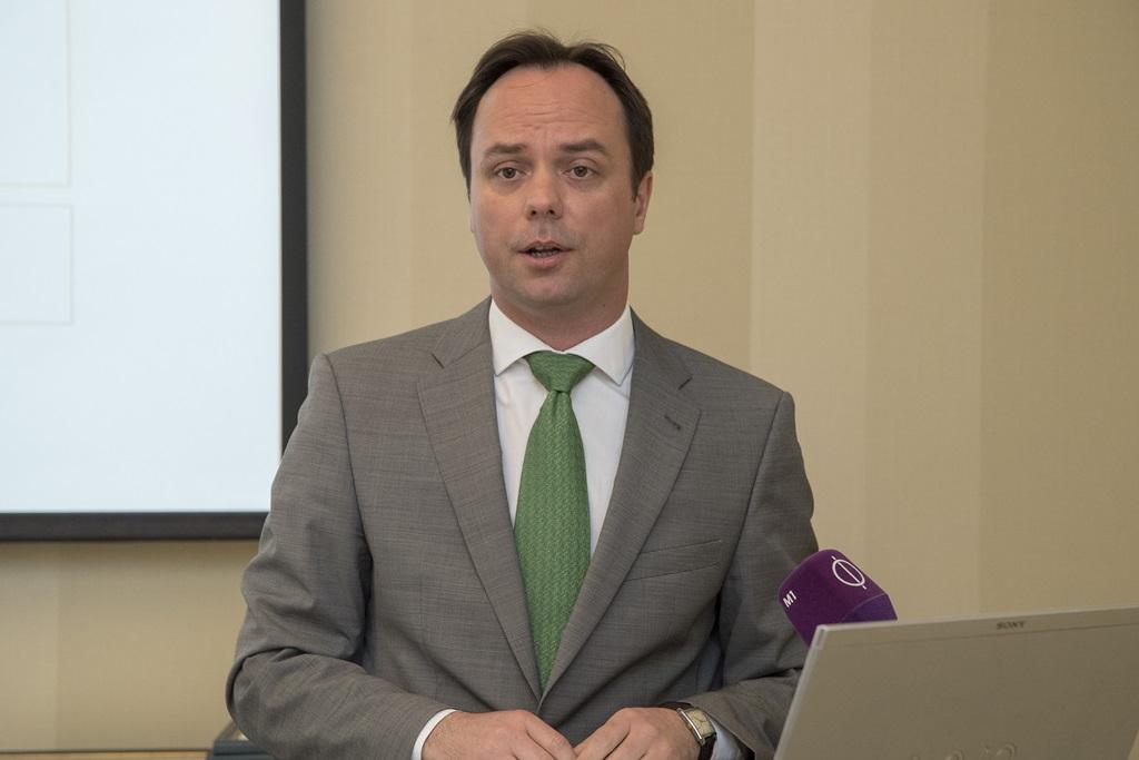 Nyitrai Zsolt, stratégiai társadalmi kapcsolatokért felelős miniszterelnöki megbízott köszöntötte a résztvevőket