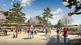 2017 októberében nyílik meg a Disneyland Paris új projektje, a Villages Nature; Copyright: Jean de Gastines Architectes T.Huau - Interscene Kreaction