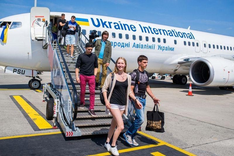 Ukrán járat indult Budapest és Kijev között