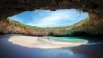 A világ legeldugottabb strandja Mexikóban