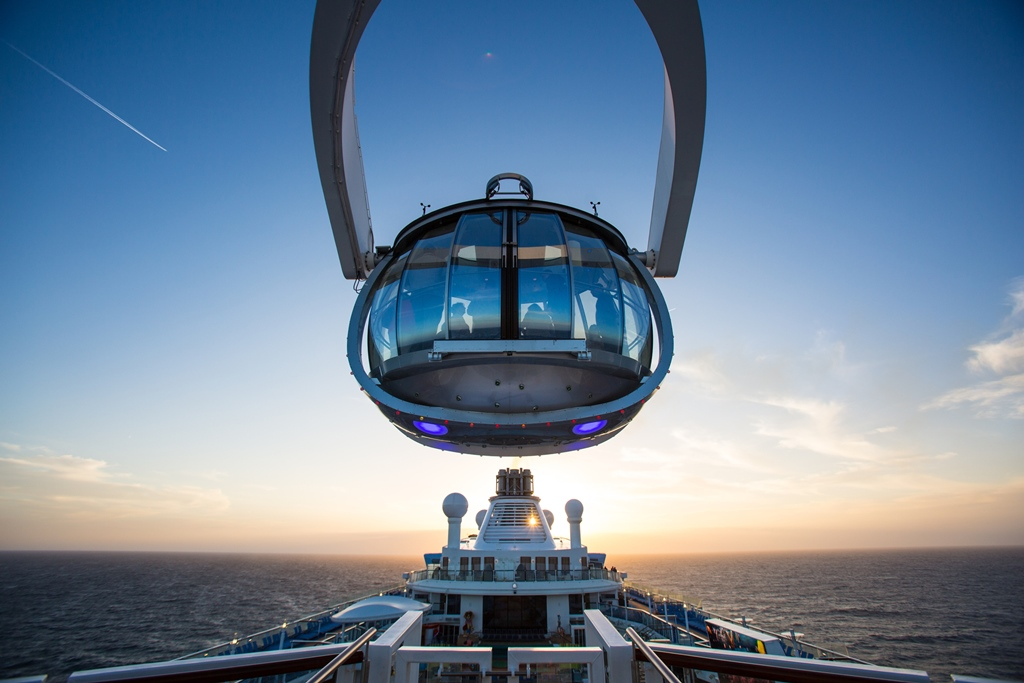 Quantum of the Seas, launch photos.