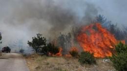 Újabb erdőtüzek pusztítanak a horvát tengerparton