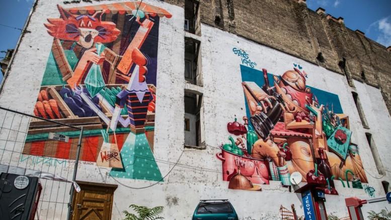 Újabb művészi tűzfalak születtek Budapesten