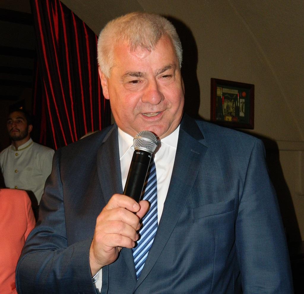 Az eseményen megjelent és köszöntötte a résztvevőket Érsek Árpád, Szlovákia közlekedésügyi minisztere is.