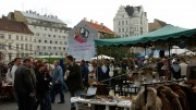 Naschmarkt bolhapiac; Fotó: Mario Lang/Eurocomm