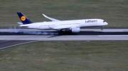 Jubileumi látogatáson az ultramodern Airbus A350