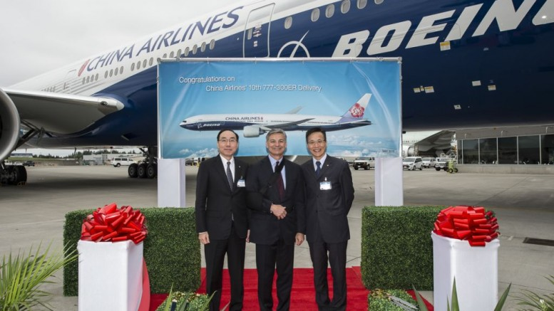 Boeing: ezermilliárd dollárt költhet Kína repülőgépekre 2036-ig