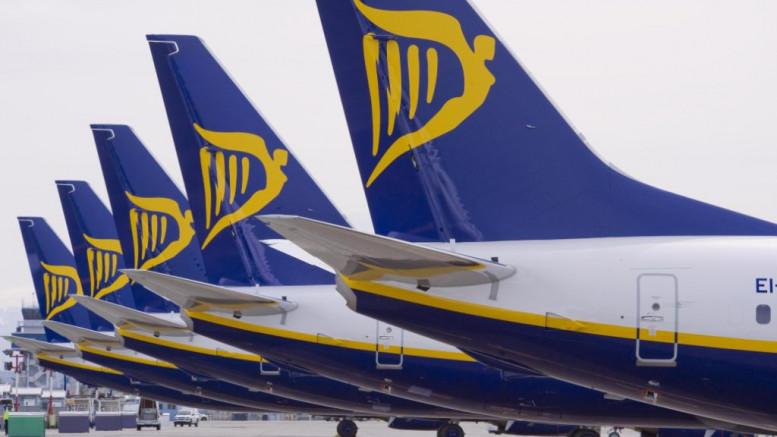 Rácsap a repülési hatóság a Ryanair-re