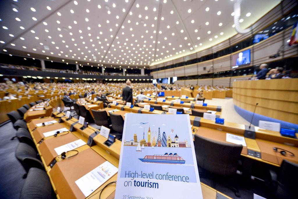 """""""High-level conference on Tourism"""" elnevezésű szakmai csúcstalálkozó az Európai Parlamentben; Fotó: EP"""