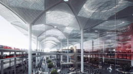 Jövőre nyit Isztambul új gigarepülőtere!