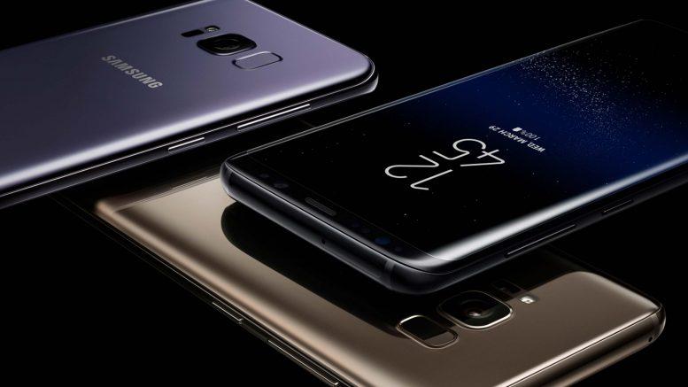 Tarolt a piacon a Samsung Galaxy S8