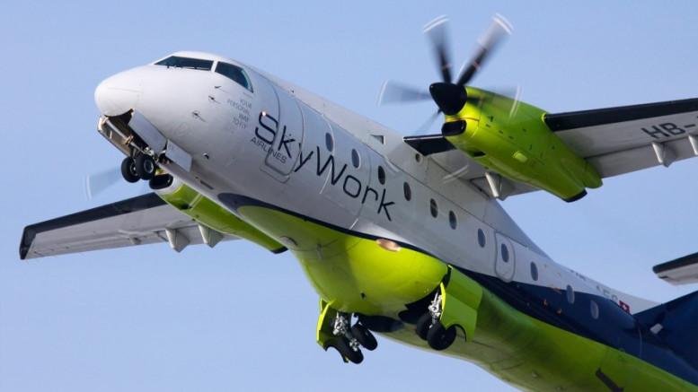 Az Air Berlin után most egy kisebb légitársaság, a Skywork dobta be törülközőt.