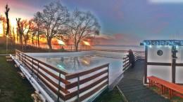 Most télen nem zár be a Balaton: nyit a koripálya, jön a gasztropiknik