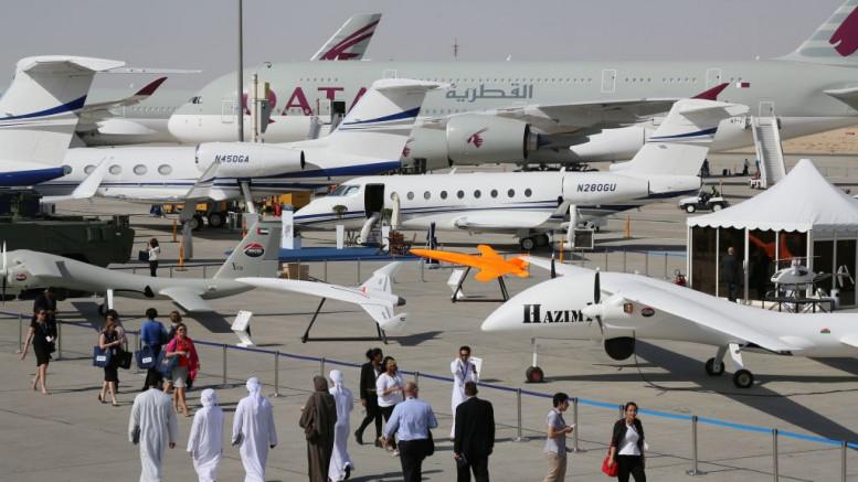 Arab tempó: 719 új repülőgép kelt el a Dubaji Légi Szalonon