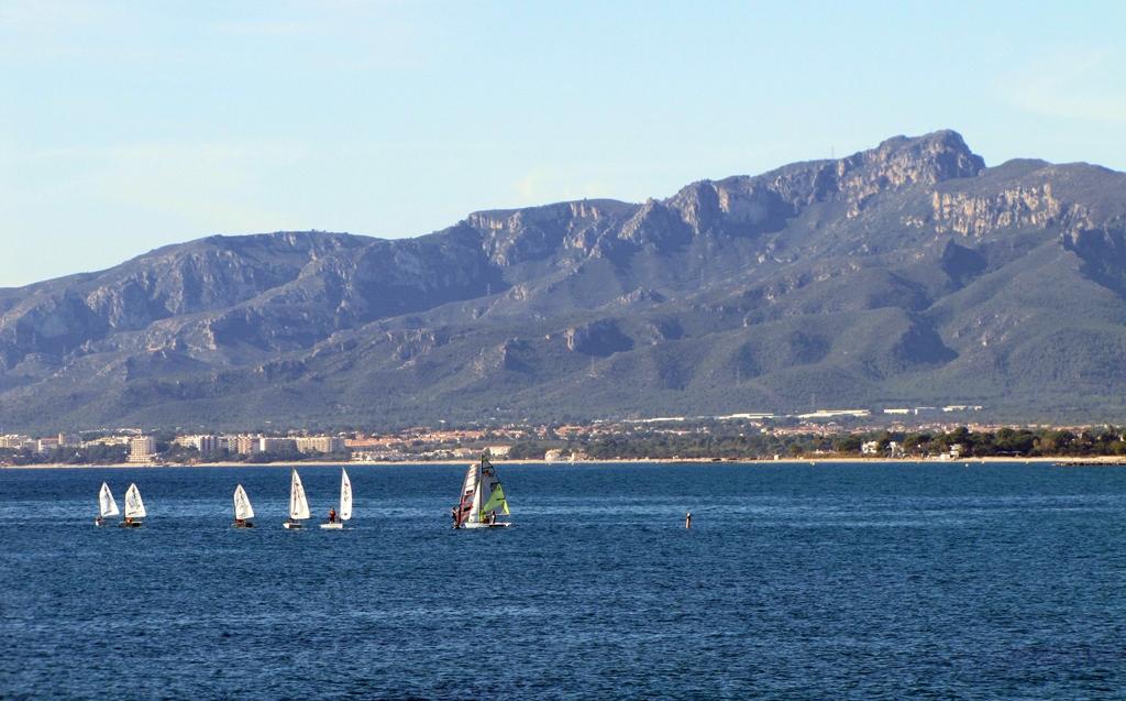 Cambrils gyönyörű mediterrán tengerpartja