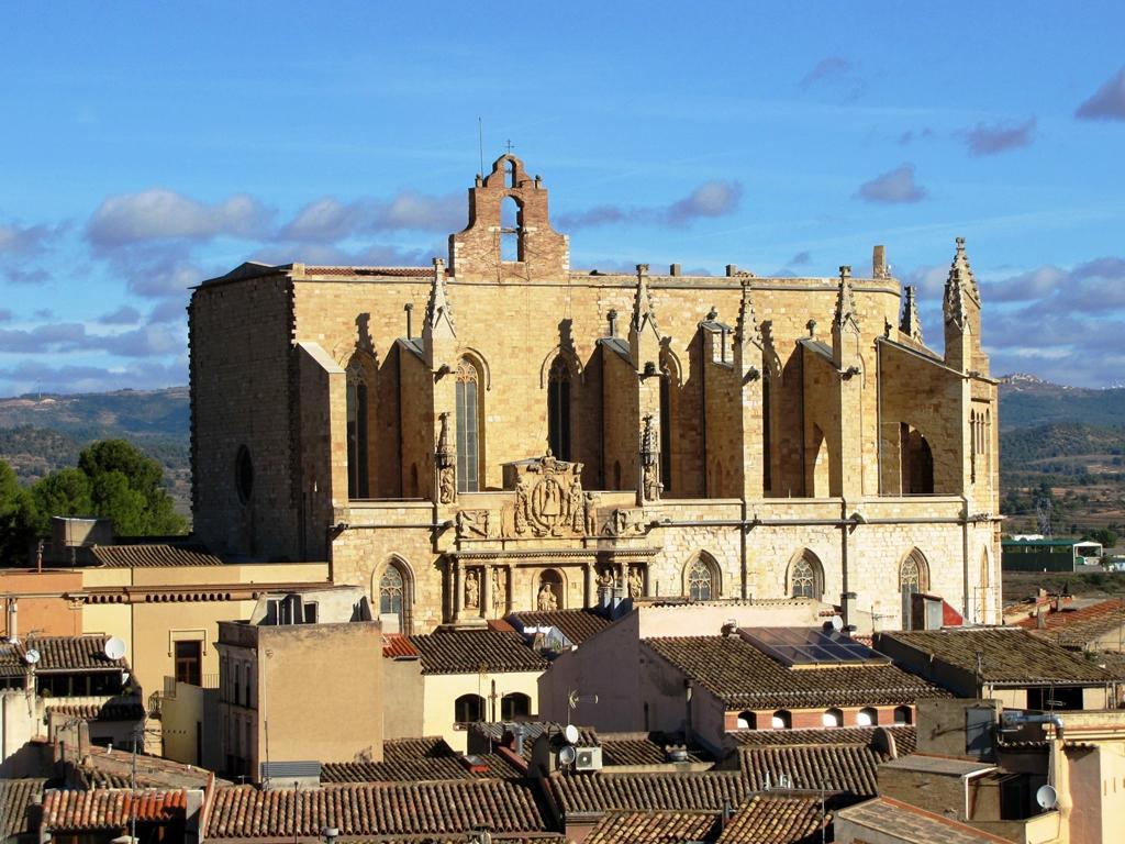 Montblanc városka katedrálisa