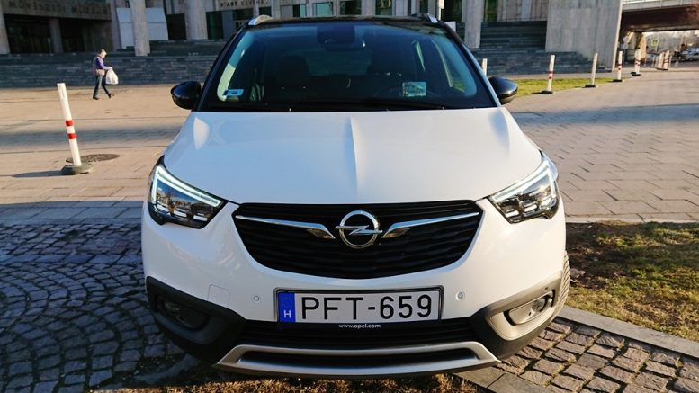 Opel Crossland X Ultimate 1.6 CDTI teszt.