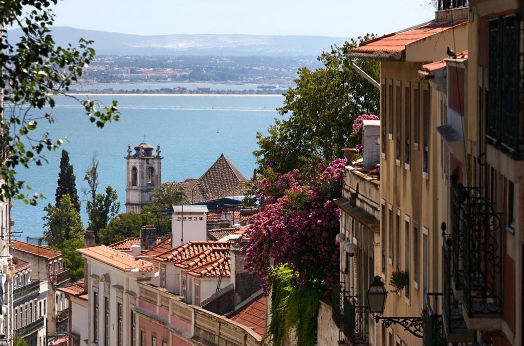 Lisszabon mediterrán hangulata