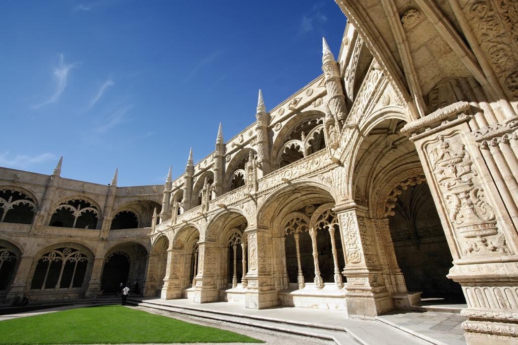 A Szent Jeromos-kolostor csodálatos kerengője