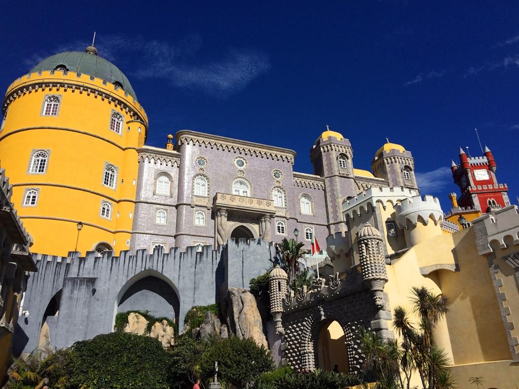 A Pena Palota Portugália hét csodájának egyike