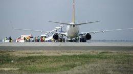 Füst miatt alakult ki pánik egy repülőn Ferihegyen