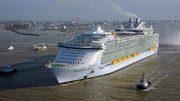 Symphony of the Seas első útja; Fotó forrása: meretmarine.com © BERNARD BIGER - STX FRANCE