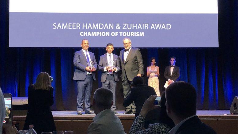 Sameer Hamdan és Zuhair Awad vehette át a Best of Budapest & Hungary Award 25. évfordulója alkalmából alapított elismerést