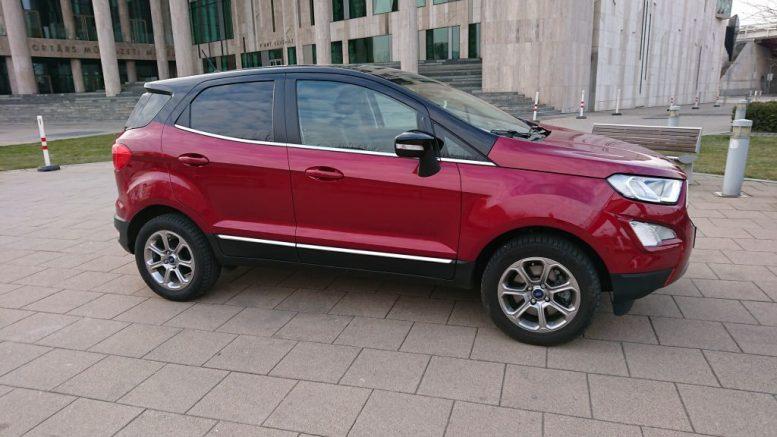 Kisebb, de olyan morcos mint az Edge – Ford EcoSport teszt.