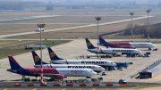 Teljes káoszt az európai légiközlekedésben