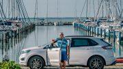 Világbajnok vitorlázó a Ford egyik zászlóshajóján