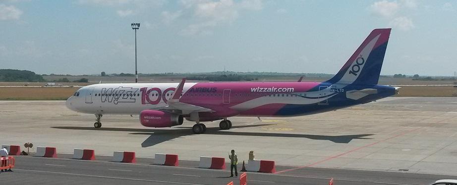 Száztagúra bővült a Wizz-flotta