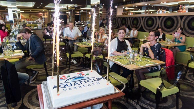 Dupla születésnap az Aquaticumban; Fotó: Fejes Márton