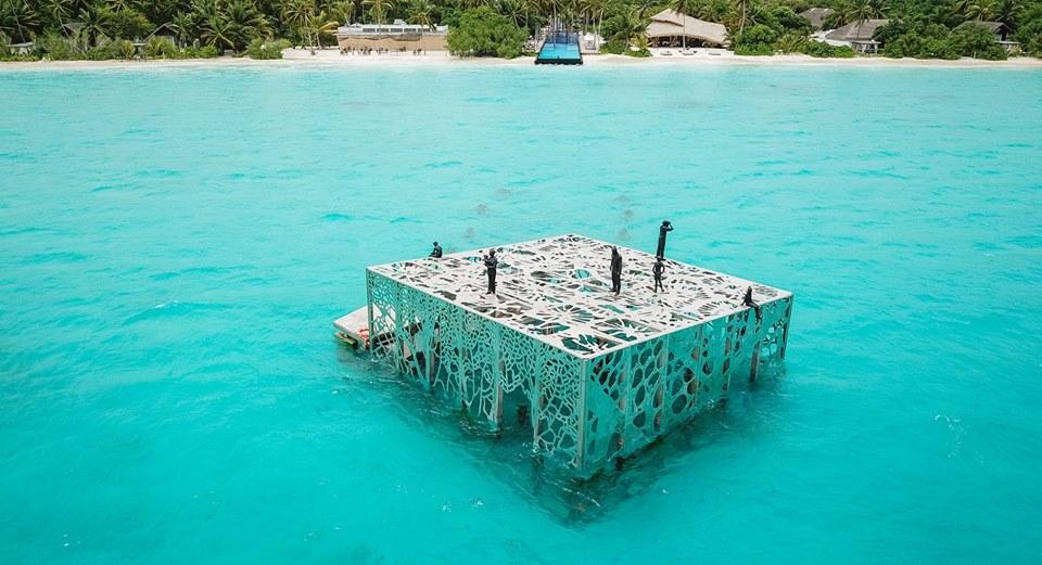 Víz alatti múzeum nyílt a Maldív-szigeteken