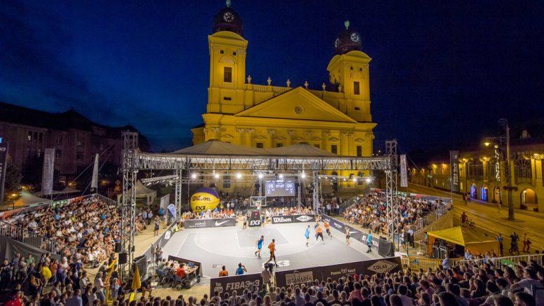 Augusztus 29-től szeptember 2-ig újra a Nagytemplom előtt küzdenek meg egymással Európa legjobb 18 év alatti és a világ legkiválóbb profi 3×3-as kosárlabdázói