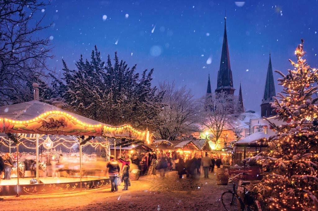 Németország karácsonyi lázban ég